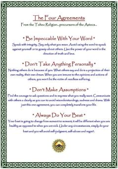 Cele patru acorduri cu sinele